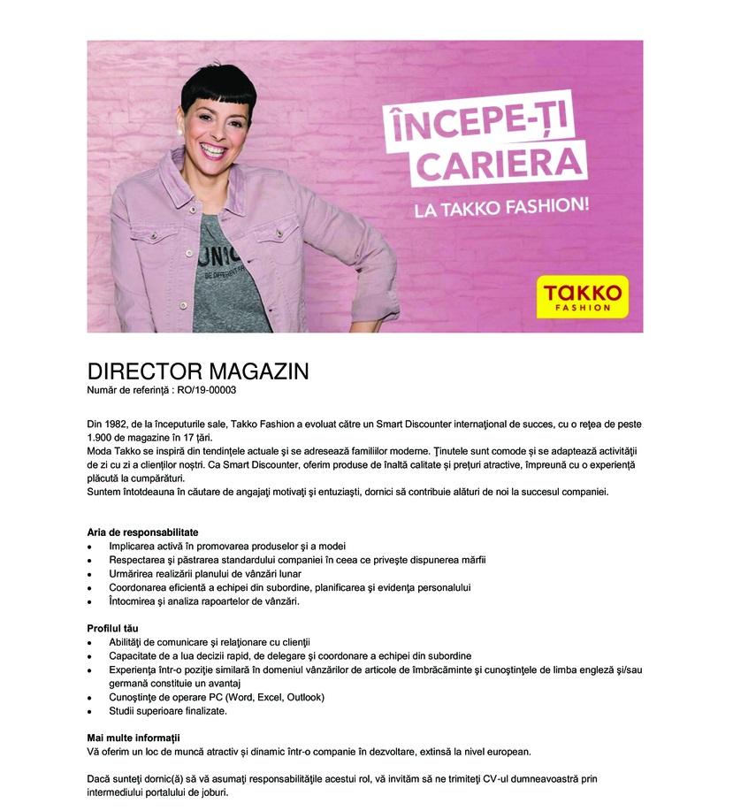Director magazin - Barlad